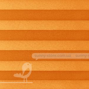 BASEL 1204 Orange - ткань на шторы плиссе Sunny