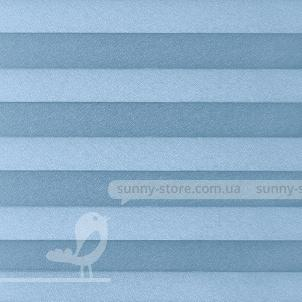 BASEL 1209 Light Blue - ткань на шторы плиссе Sunny