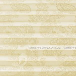 JAIPUR 6201 light beige - ткань на шторы плиссе Sunny