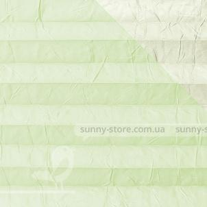 OSLO PERLA 2251 Light Green - ткань на шторы плиссе Sunny