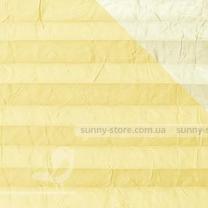 OSLO PERLA 2271 Light Yellow - ткань на шторы плиссе Sunny