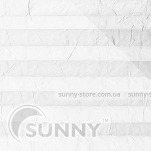OSLO PERLA 2293 Optical White - ткань на шторы плиссе Sunny